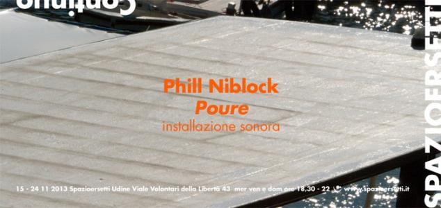 Phill Niblock a Spazioersetti
